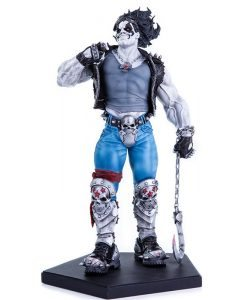 Lobo DC Comics Art Scale - Iron Studios