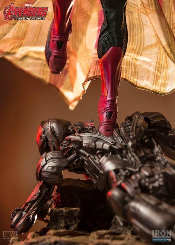 Vision Age of Ultron Diorama 1/6 Iron Studios