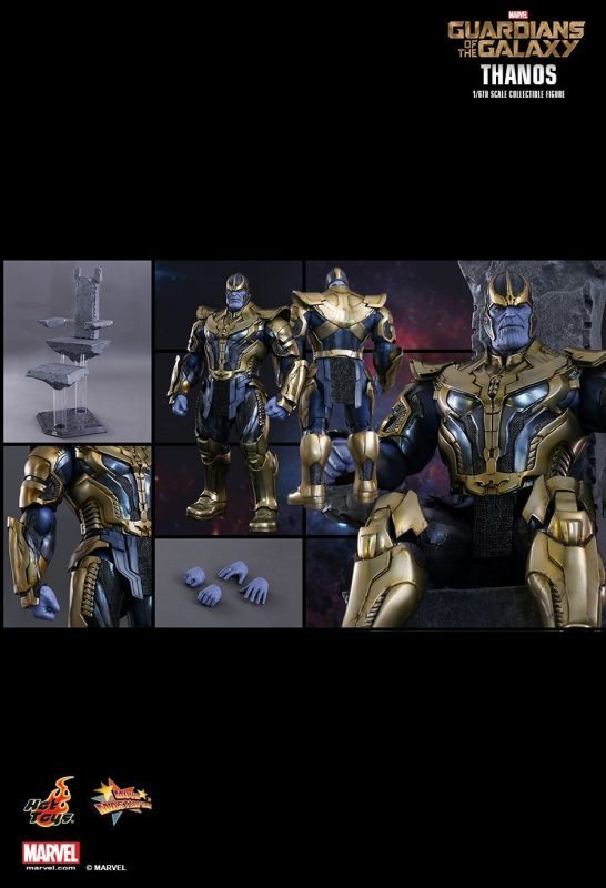 Thanos Guardians of the Galaxy Hot Toys