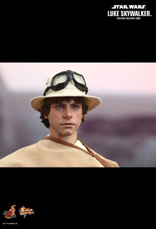 Luke Skywalker Special Edition Hot Toys S/ Caixa Parda