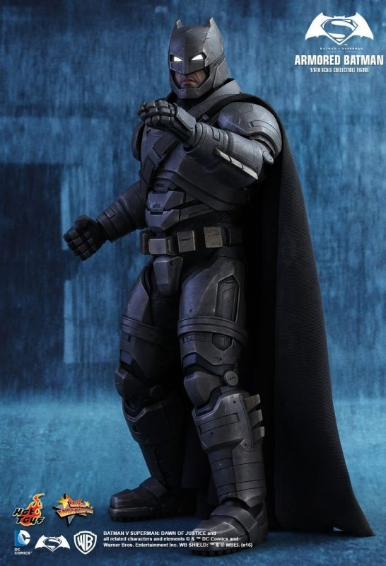 Armored Batman Dawn of Justice Hot Toys