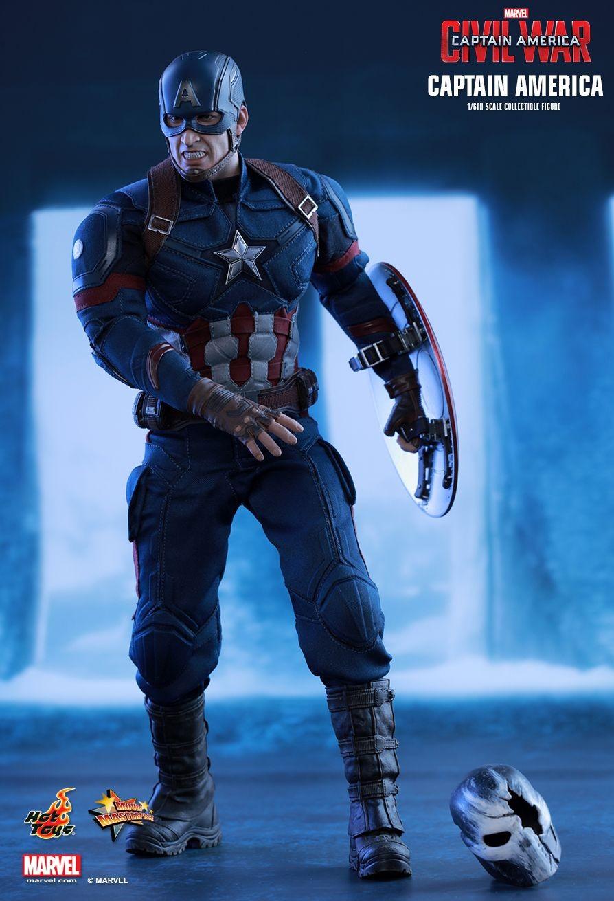 Captain America Civil War Hot Toys