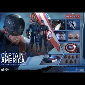 Captain America Civil War Hot Toys