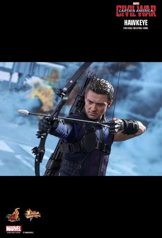 Hawkeye Civil War Hot Toys