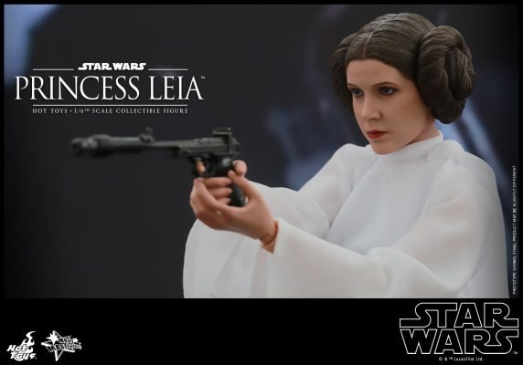 Princess Leia Special Edition Hot Toys S/ Caixa Parda