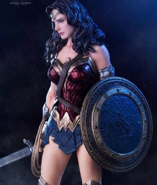 Wonder Woman Dawn of Justice Art Scale Iron Studios