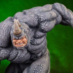 Rhino Marvel Comics Art Scale Iron Studios