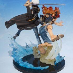 Monkey D Luffy and Trafalgar 5th Anniversary Ver Bandai