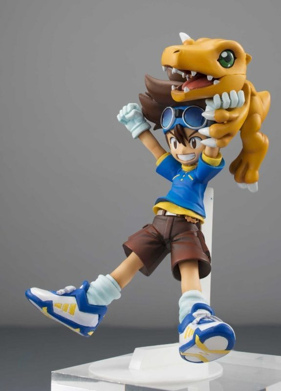 Taichi Yagami and Agumon G.E.M MegaHouse