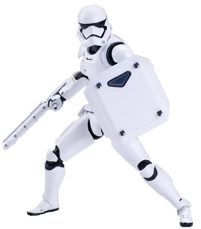 Stormtrooper Shield and Baton S.H.Figuarts Bandai