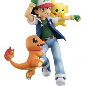 Ash Ketchum, Pikachu e Charmander G.E.M Megahouse