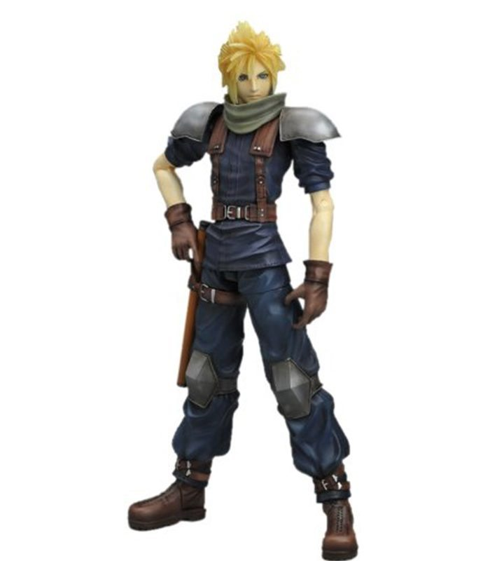 Cloud Strife Crisis Core Play Arts Square Enix