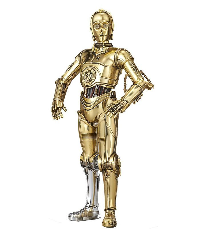 C-3PO Episode IV Model Kit Bandai