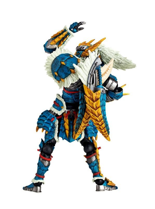 Zinogre Hunter Revoltech - Kaiyodo