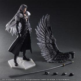 Sephiroth Advent Children Play Arts Kai Square Enix