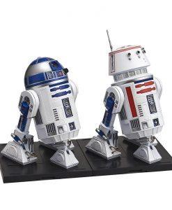 R2-D2 and R5-D4 Model Kit Set - Bandai