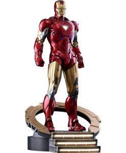 Iron Man Mark VI Diecast Avengers Hot Toys