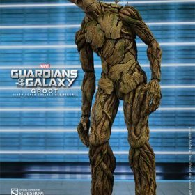 Groot Guardians of the Galaxy Hot Toys S/ Caixa Parda
