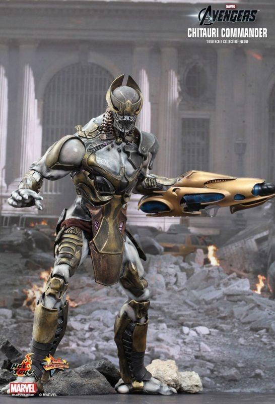 Chitauri Commander Avengers - Hot Toys