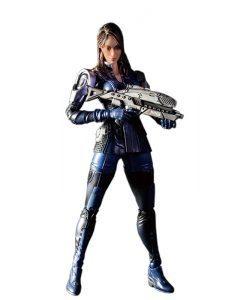 Mass Effect 3 Ashley Williams Play Arts Kai - Square Enix