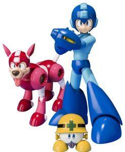Megaman D-Arts with Rush & Met - Bandai