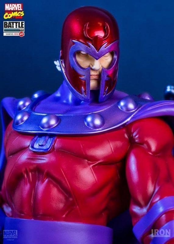 Magneto Vs Sentinel Diorama Marvel Comics Iron Studios