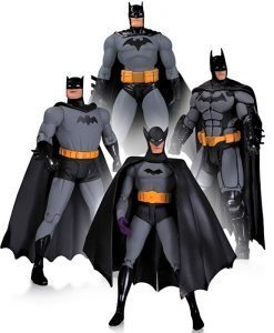 Batman 75th Anniversary (4 pack) - DC Collectibles