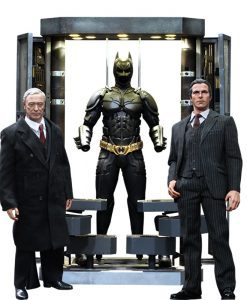 Batman The Dark Knight Batman Armory with Bruce Wayne & Alfred - Hot Toys