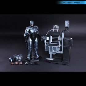 RoboCop With Mechanic Chair Diecast Hot Toys