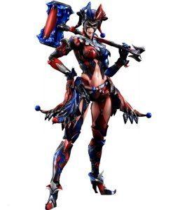 Harley Quinn DC Comics Variant Play Arts Kai - Square Enix
