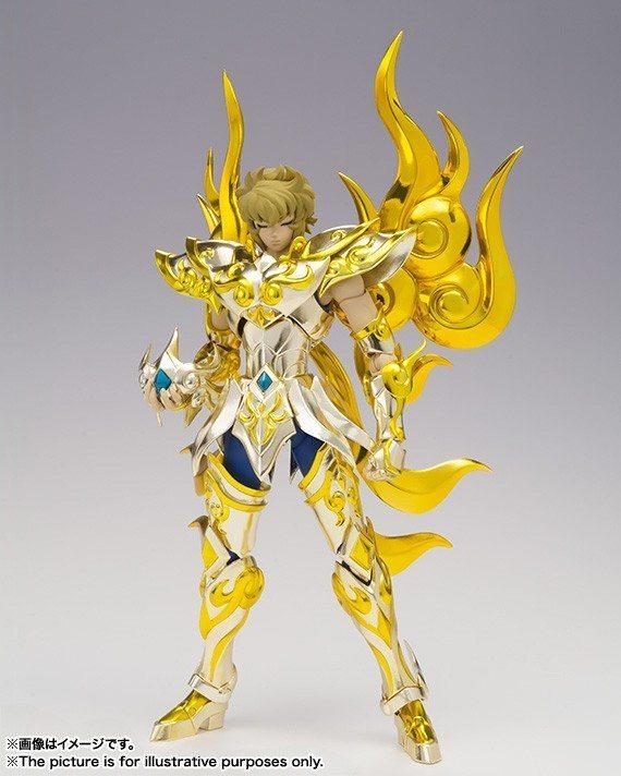 Aiolia de Leão Soul of Gold Cloth Myth Ex