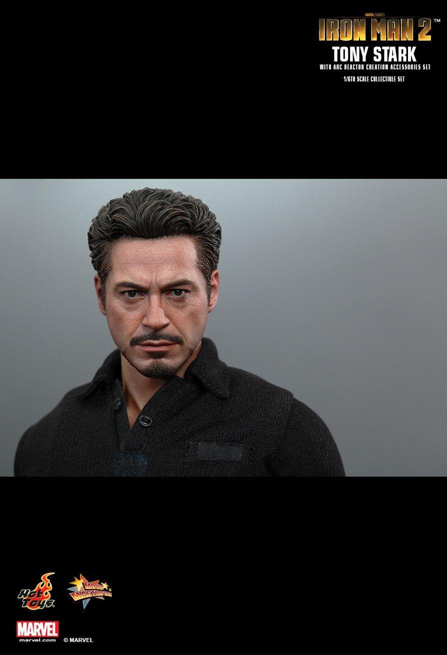 Tony Stark with Arc Reactor Iron Man 2 Hot Toys   Tony ...