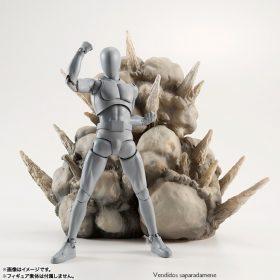 Tamashii Effect Explosion Gray Display Bandai