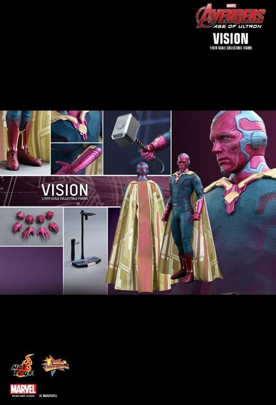 Vision Age of Ultron Hot Toys
