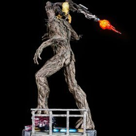 Rocket and Groot Guardians of the Galaxy Iron Studios
