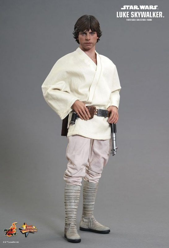 Luke Skywalker Episode IV A New Hope Hot Toys