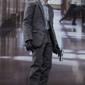 The Joker Bank Robber Version 2.0 Hot Toys CCXP