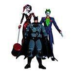 Batman Hush Joker Harley Quinn and Stealth Batman - DC Collectibles
