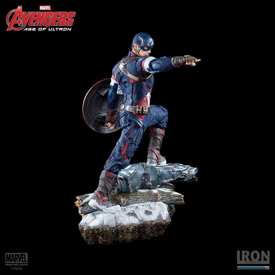 Captain America Legacy Replica Iron Studios