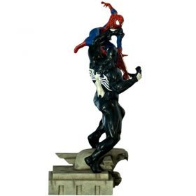 Spider-Man Vs Venom Diorama Marvel Comics Iron Studios