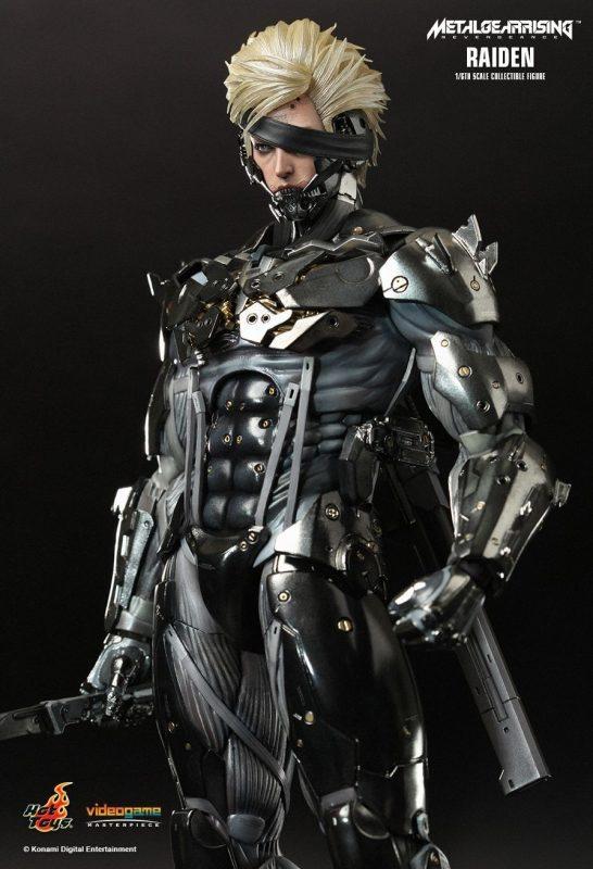 Raiden Metal Gear Rising Hot Toys